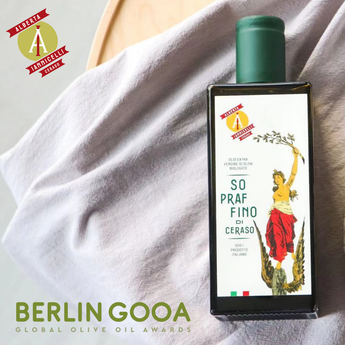 Sopraffino di Ceraso a Berlin GOOA 2021 Global Olive Oil Awards
