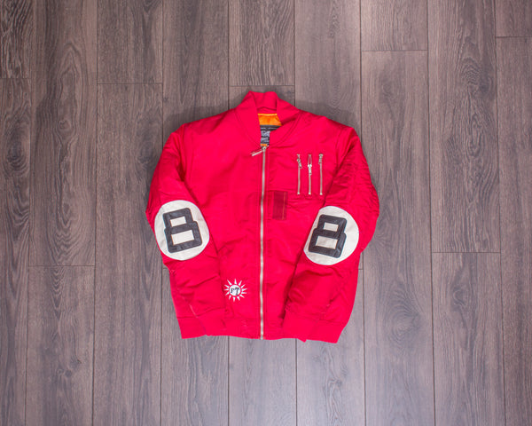 Flight Tigers Red Jacket
