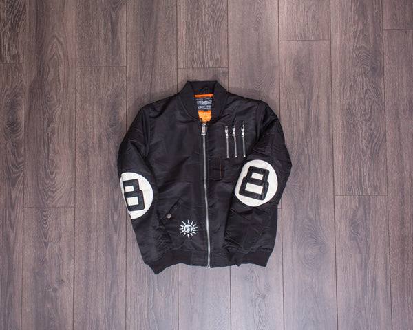 Flight Tigers Black Jacket