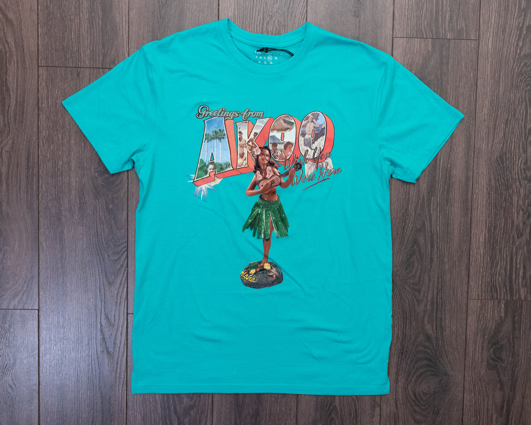 Akoo Hula Girl Tee Waterfall