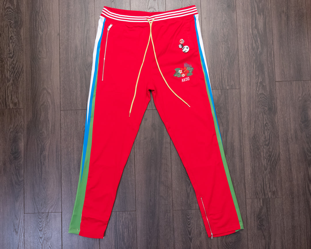 Akoo Tide Racing Red Pants
