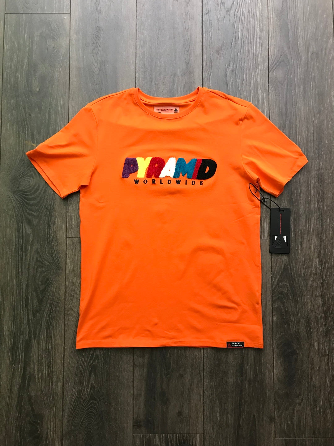 Black Pyramid Orange Tee