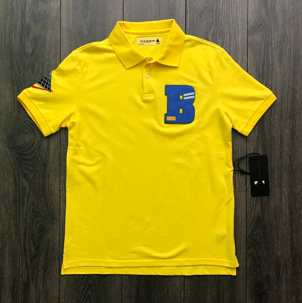 Black Pyramid Yellow Polo