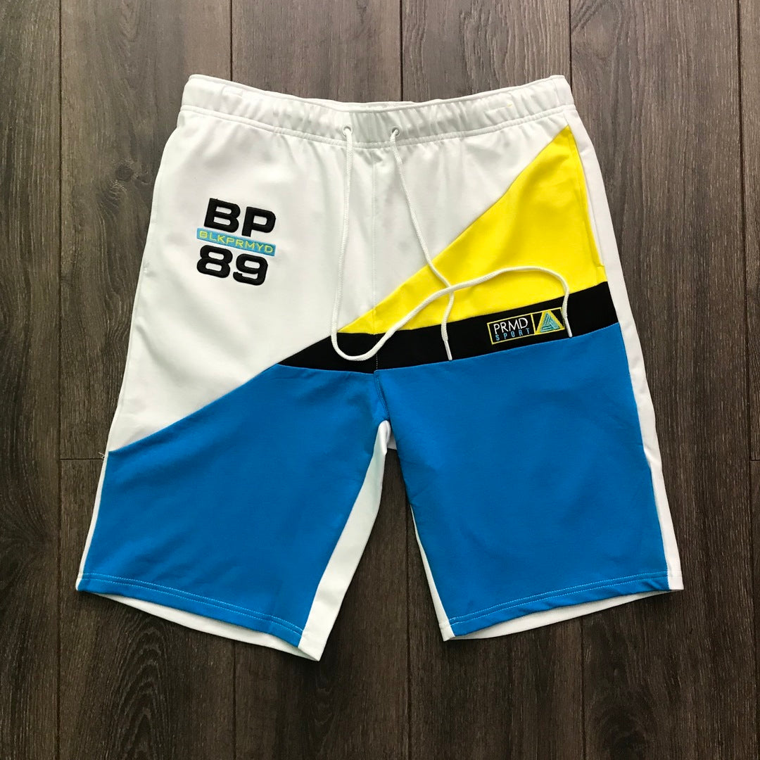 Black Pyramid White Sport Shorts