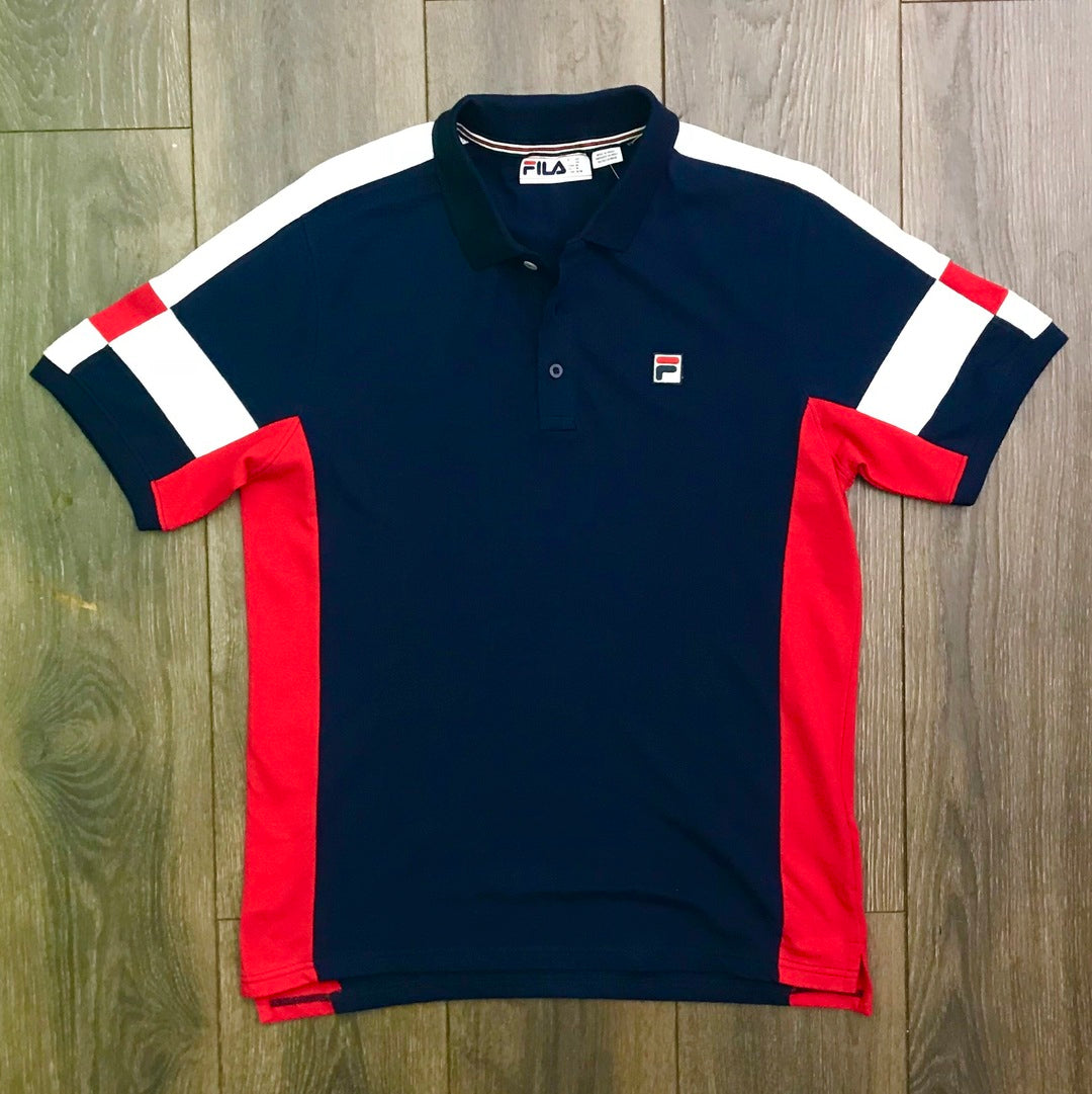 Fila Prago Polo Navy/Red/Wht