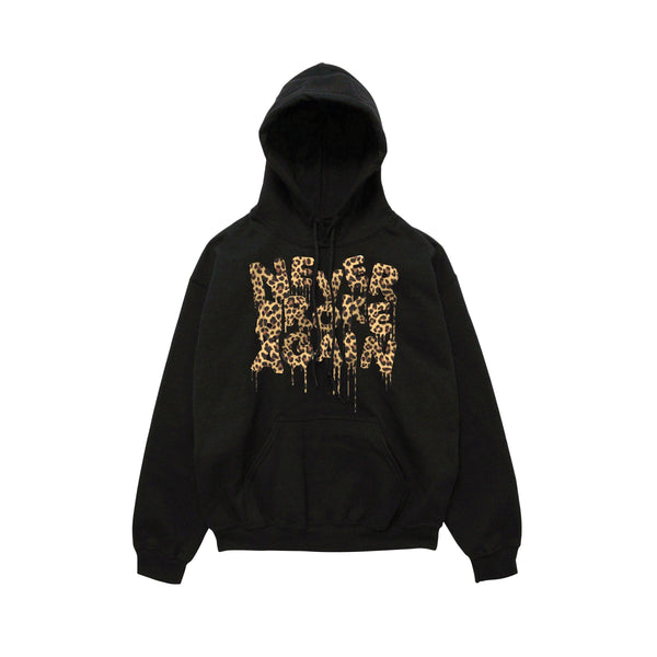 NEVER BROKE AGAIN - DRIP CHEETAH HOODY