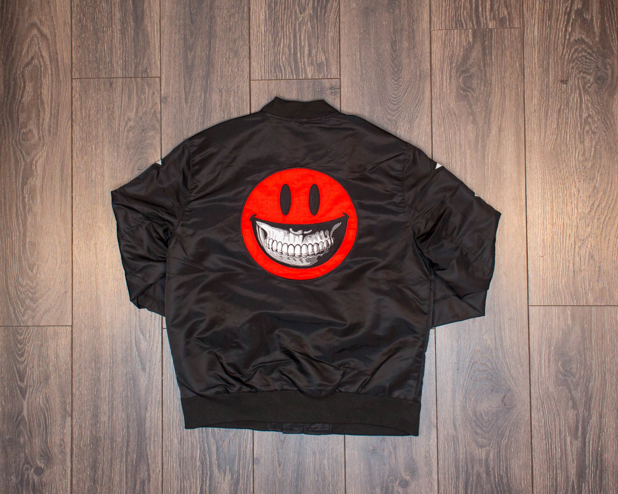 Staple Smile Bomber Jacket
