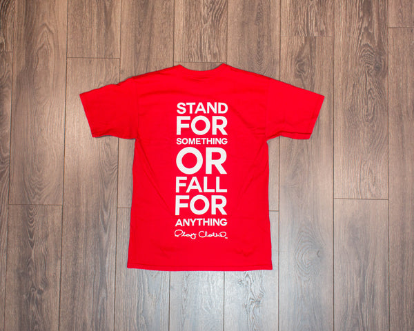 Play Cloths Stand Up Tee- Red