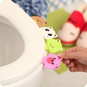 Toilet lid for potty ring