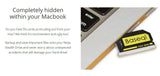 BASEQI Micro SD Card Reader For Macbook Pro Retina 13''