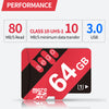 High Speed 80MB/s TF Micro SD Cards