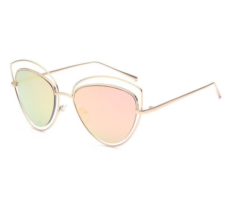 Retro Big Frame Sunglasses