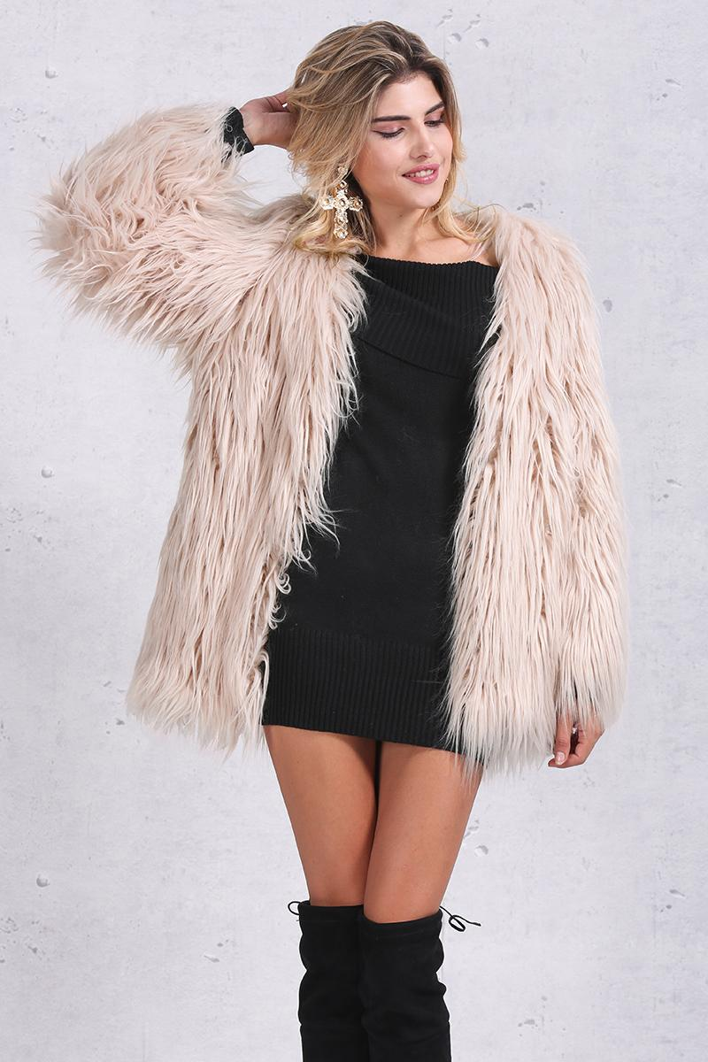Fur Coats - Comes in 4 Colours
