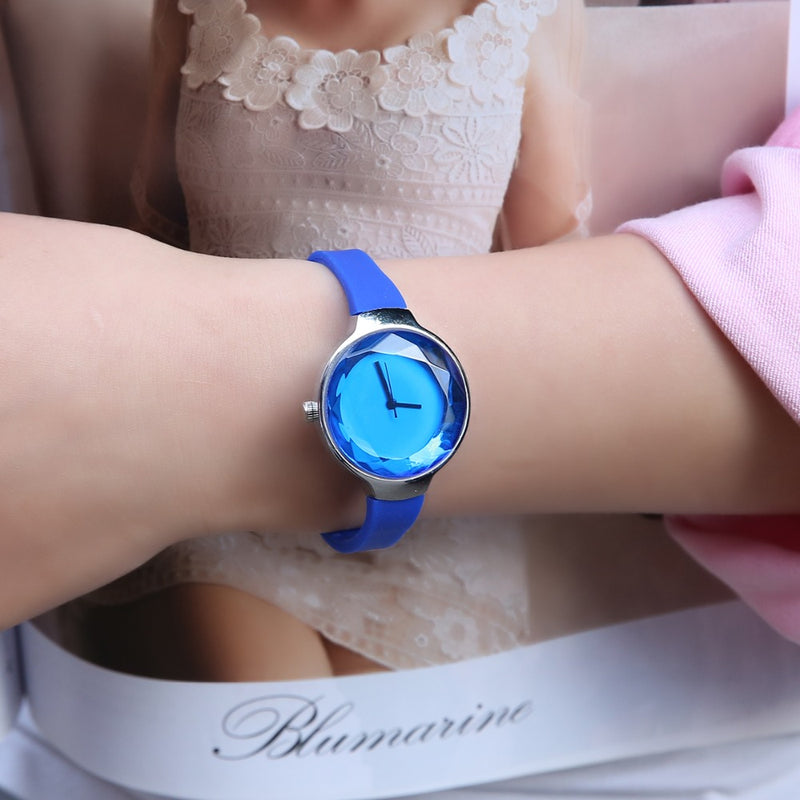 3D Crystal Shape Watches