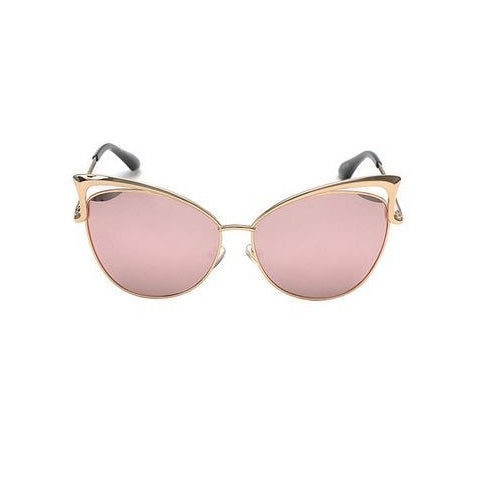 Twin-Beam Mirror Sunglasses