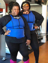 "Plus Size ""The Original"" Blue Sweat Vest"