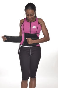 "Pink ""Waist Watcherz"" Sweat Vest"