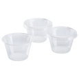 4 oz PLA Clear Portion Cups with clear lids 100 pcs each