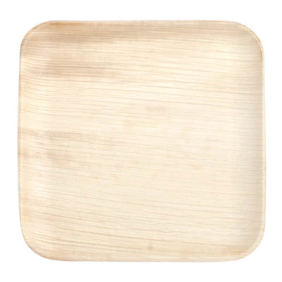 Square Palm Leaf Plates 6 inch - 10/package