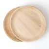 Round Palm Leaf Plates 6 inch 25/package