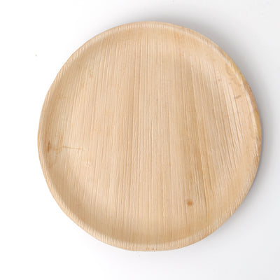 Round Palm Leaf Plates 10 inch 25/package