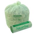 "Biodegradable Compostable Trash Bags 13 gallon Waste Liner Bag 0.8 mil, 23.5""W x 29""H, 12/box, 144/case"