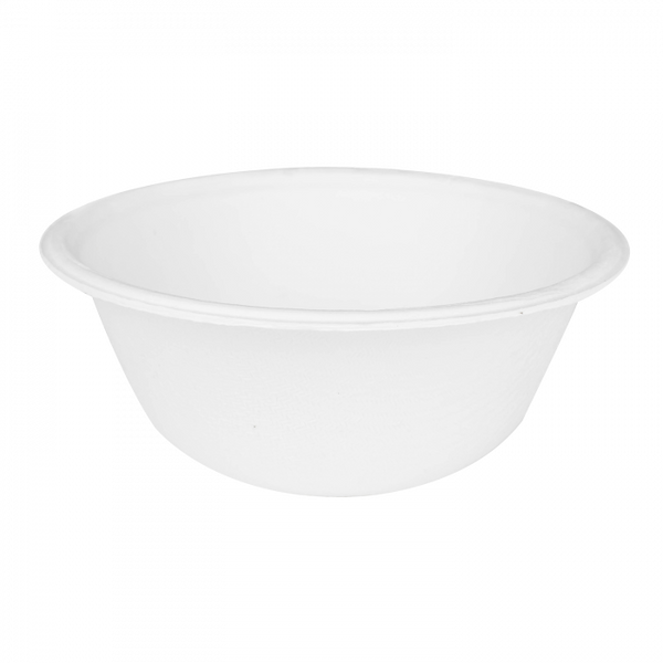 Round Sugarcane Bagasse Bowls 8 oz Biodegradable, Compostable, 1000 / count