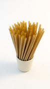 Biodegradable Sugarcane Plant Based Straws 8.26 inch Length x .23 inch diameter