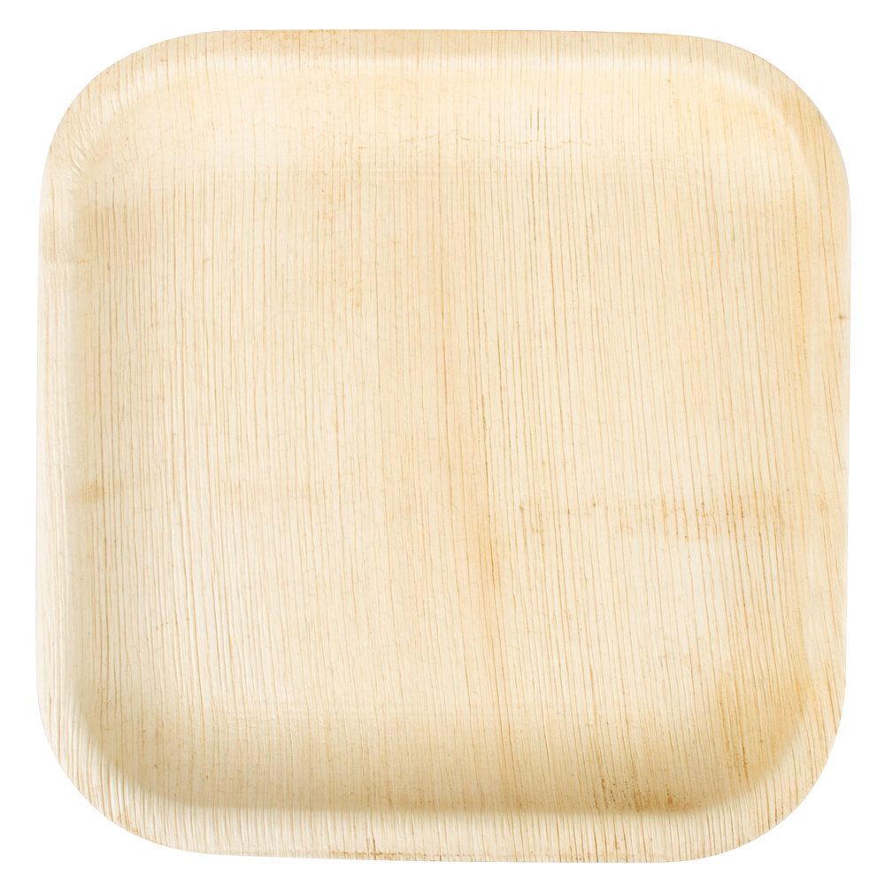 Palm Leaf Square Deep Plates 6 inch - 25/package