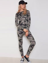 MORGAN CAMO SWEATSHIRT & JOGGERS CO-ORD SET