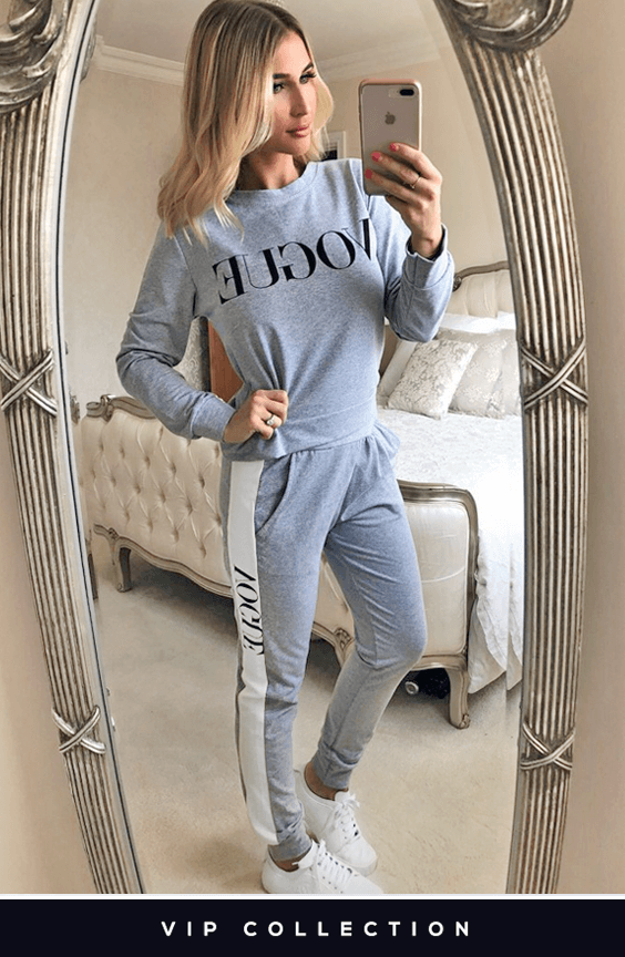 VIP COLLECTION BILLY GREY VOGUE TRACKSUIT