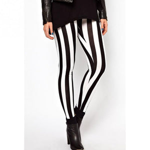 JAZZY MONO STRIPE LEGGINGS