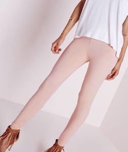 ELAN NUDE JERSEY LEGGINGS