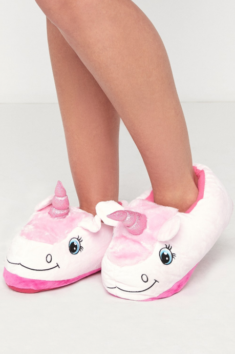 STYLE Kids 3D Unicorn Slippers