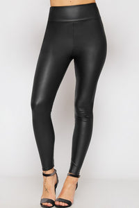 LILLI-ANNE WET LOOK LEGGINGS
