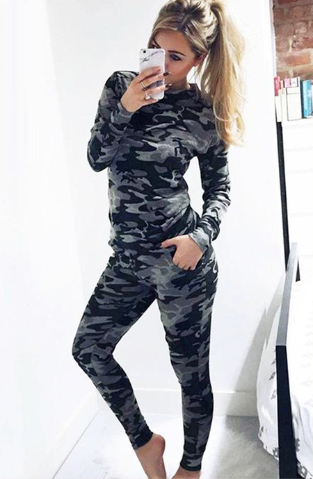 ARIANNA CAMO SWEATSHIRT & JOGGERS CO-ORD SET