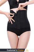 FAST RESULTS BLACK COMFORT WAIST TRAINER