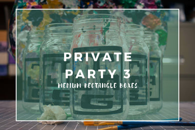 Private Garden Party Option 3 Medium Rectangle Boxes