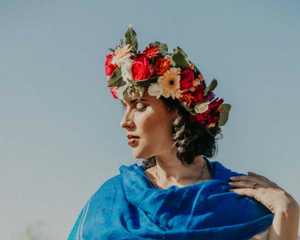 La Frida Flower Crown