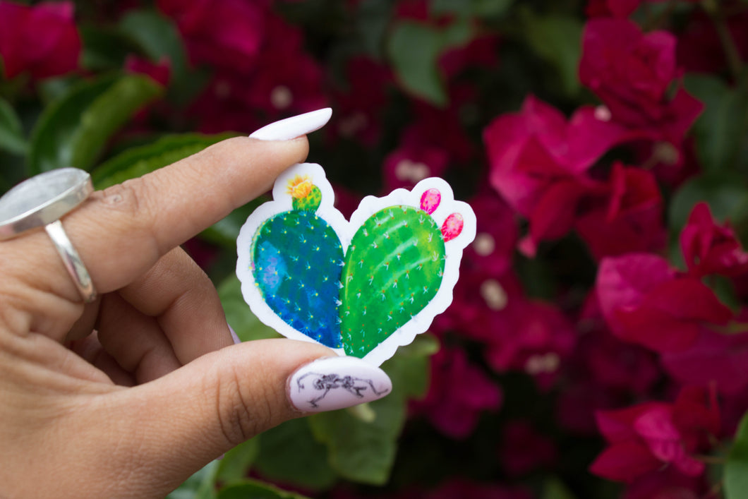 Corazon de Nopal 6 Pack Sticker SALE!