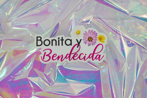 Bonita y Bendecida Sticker