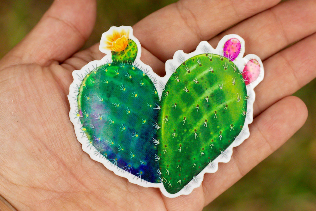 Large Corazon de Nopal