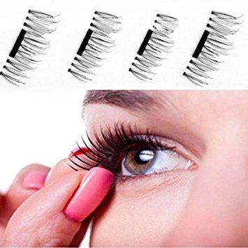 Swift™ Reusable Eyelashes with power of magnet - NO GLUE required (Set of 4pcs)