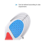 For Foot Care And Pain Relief - Get Orthopaedic Silicone Insole Shoe Pad (Set of 2 PCS)