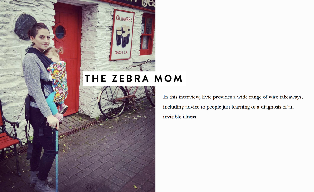 Zebra Mom quote