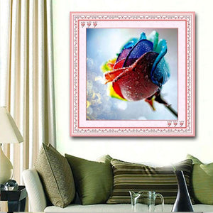Colorful Rose - DIY 5D Diamond Painting