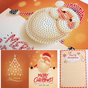 DIY Christmas Postcard Diamond Painting