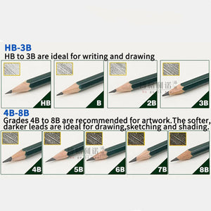 Faber Castell 16Pcs Sketch Drawing Pencils