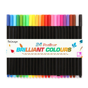 Fineliner Water Based Assorted Colored Ink Art Markers