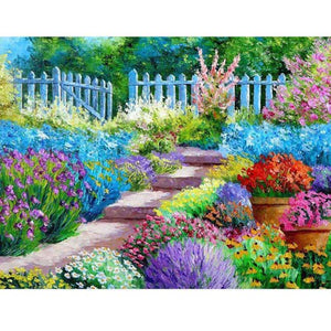 Flower Garden - DIY 5D Diamond Painting